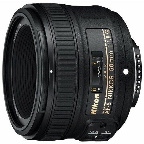 Фото - Объектив Nikon 50mm f 1.8G AF-S объектив nikon 50mm f 1 4d af