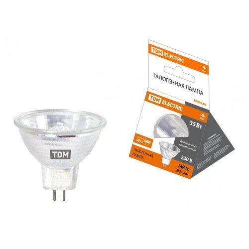 Лампа галогенная TDM JCDR GU5.3 лампа энергосберегающая tdm sq0323 0054