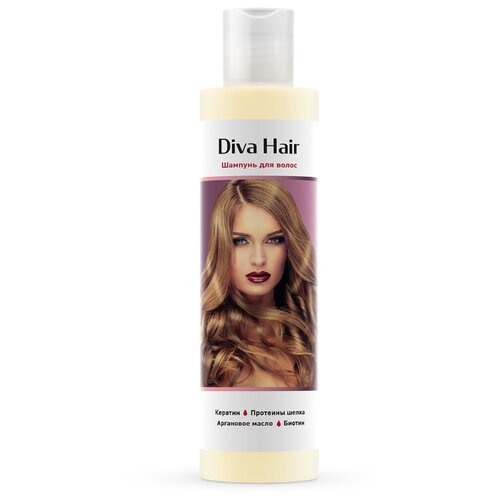 Diva Hair шампунь с биотином колье diva diva mp002xw1io6p