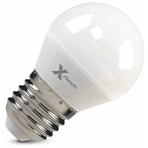 Лампа светодиодная X-flash x flash лампа светодиодная x flash шар матовый e14 4w 4000k 48014