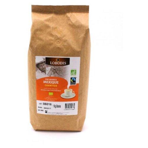Кофе в зернах Lobodis Mexique
