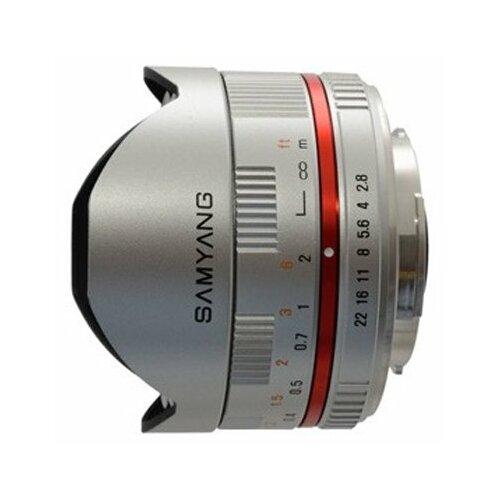 Фото - Объектив Samyang 8mm f 2.8 UMC объектив