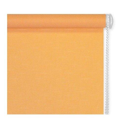 Рулонная штора Эскар однотонная рулонная штора эскар однотонная цвет светло абрикосовый