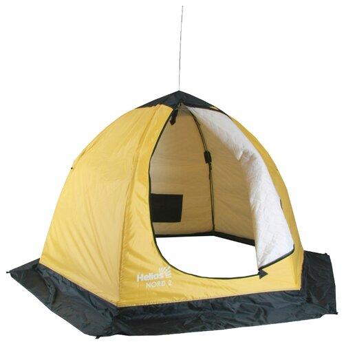 Палатка HELIOS NORD 2 cпальный мешок helios батыр сок 2 green 0612