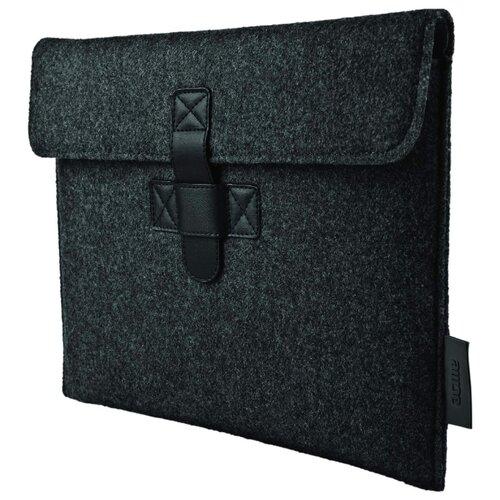 Чехол ACME Woolen Tablet tie belt hooded plaid woolen coat