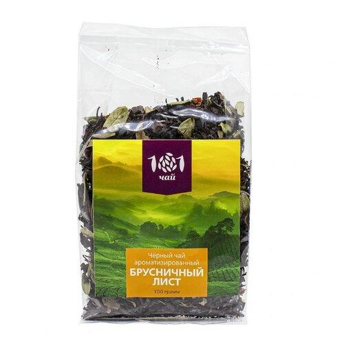 чай Чай черный 101 чай Брусничный