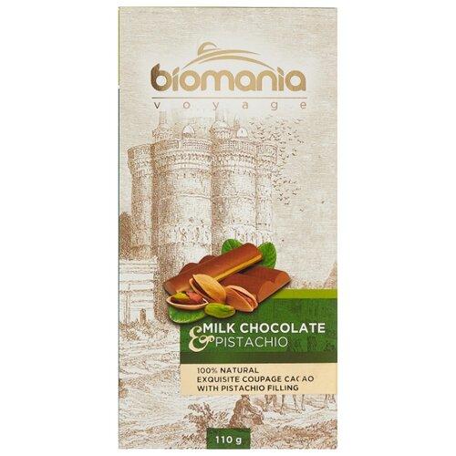 Шоколад Biomania молочный с