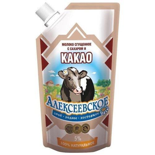 Фото - Сгущенное молоко Алексеевское с волоконовское молоко цельное сгущенное с сахаром премиум 380 г