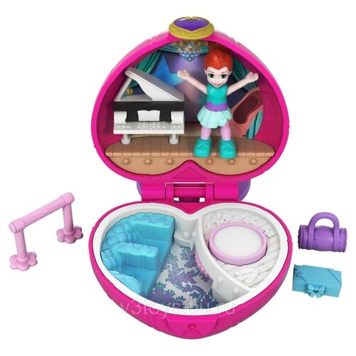 Игровой набор Mattel Polly игровой набор mattel polly pocket мир полли fry35