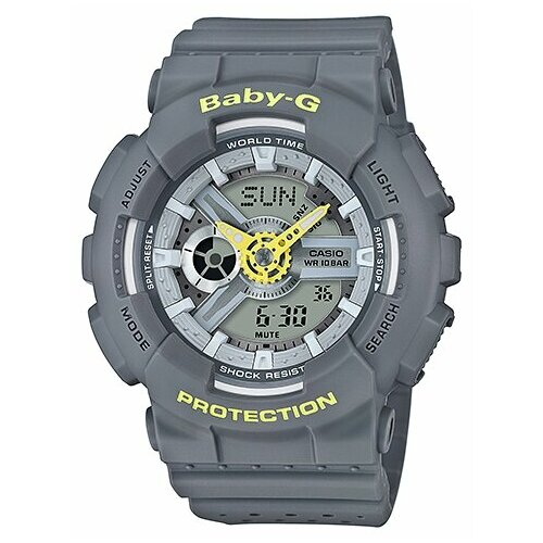 Наручные часы CASIO BA-110PP-8A casio baby g ba 110fl 8a