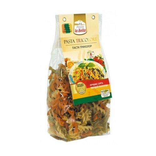 Pasta la Bella Макароны pasta la bella baby триколор 250г