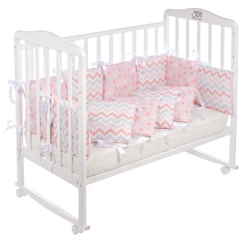 SWEET BABY бортики-подушки Colori постельные принадлежности sweet baby бортики sweet baby gelato turchese 12 пр голубые