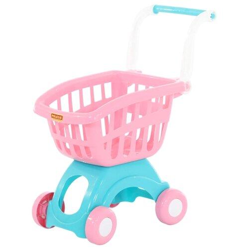 Фото - Тележка для покупок Полесье 71279 полесье игрушечная тележка supermarket 1 с набором продуктов цвет в ассортименте