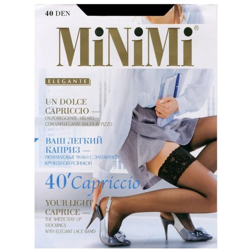 Чулки MiNiMi Capriccio 40 den чулки minimi