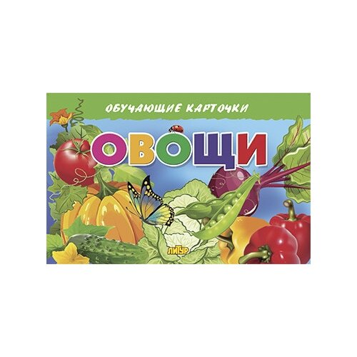 обучающие книги Овощи. Обучающие карточки