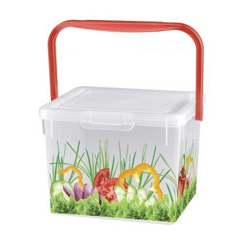 Phibo Контейнер для продуктов с контейнер для лука phibo 10х7 см пластик