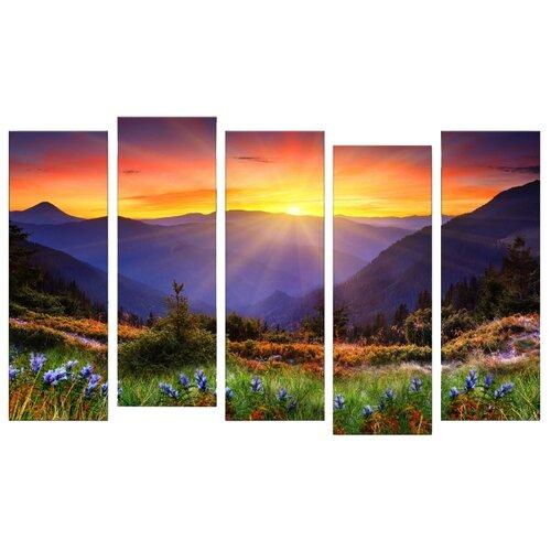 Фото - Модульная картина Картиномания картина модульная картиномания водопад 90 х 57 см