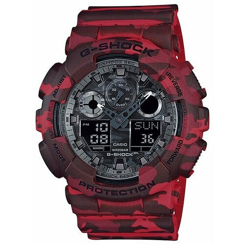 Наручные часы CASIO GA-100CM-4A casio ga 110rd 4a