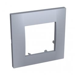 Рамка 1п Schneider Electric Altira ALB45730, серый