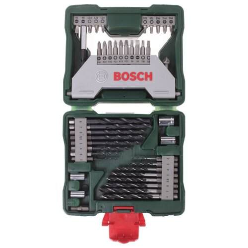 Набор оснастки BOSCH X-Line 43 набор отверток bosch x line 46 2 607 019 504