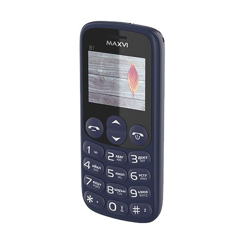 Телефон MAXVI B1 сотовый телефон maxvi b1 red