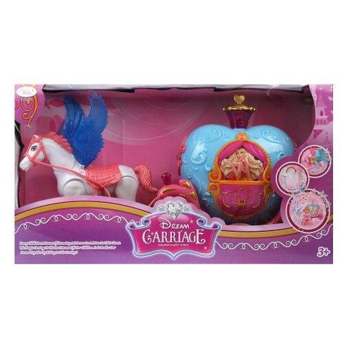 Наша игрушка Карета с лошадкой игрушка