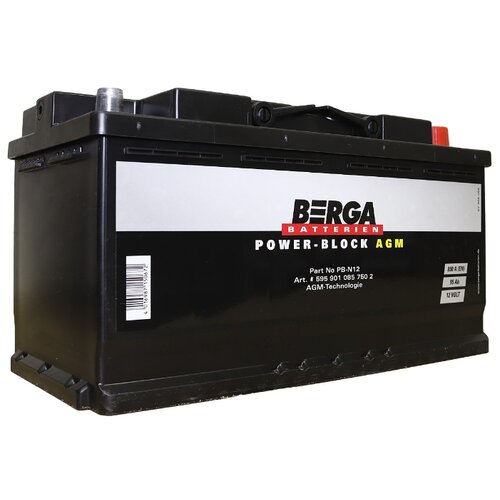 Автомобильный аккумулятор Berga аккумулятор