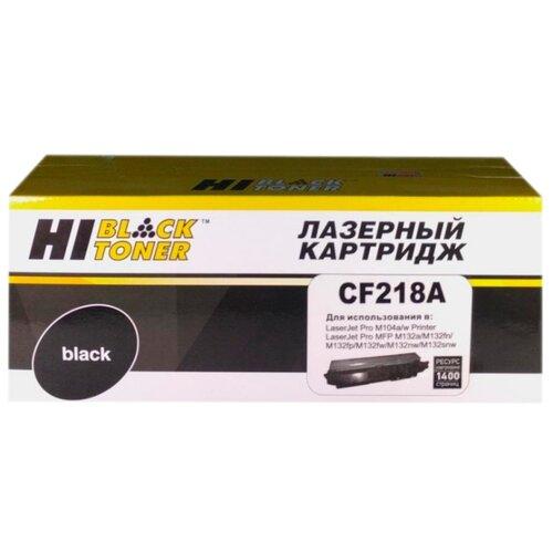 Фото - Картридж Hi-Black HB-CF218A внешний аккумулятор pb14x black 14000 мач