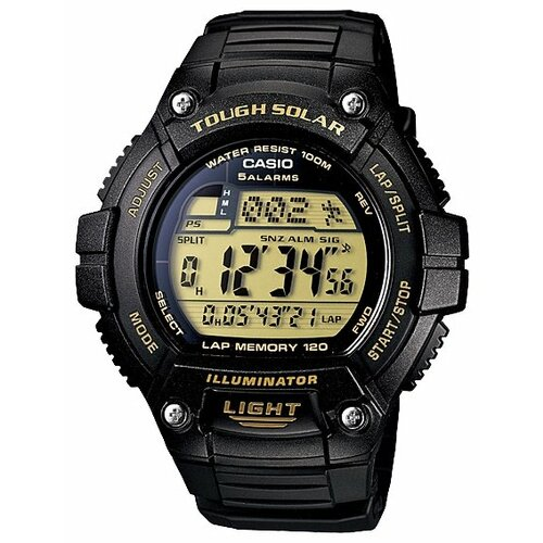 Наручные часы CASIO W-S220-9A casio часы casio w s220 1a коллекция digital