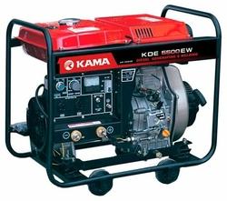 Дизельный генератор KAMA KDE5500EW (1700 Вт)
