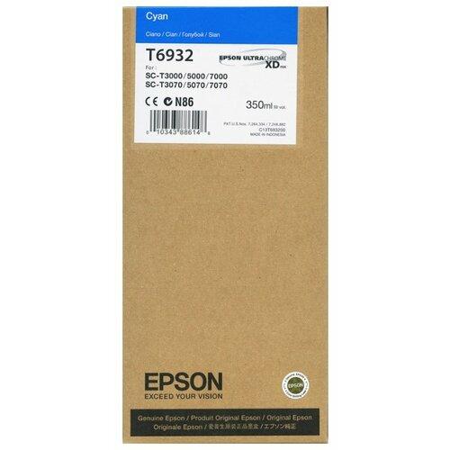 Фото - Картридж Epson C13T693200 картридж epson c13t693200 для sc t3000 t5000 t7000 голубой