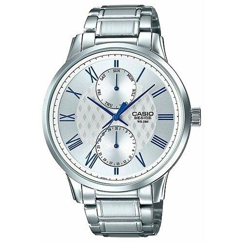 Наручные часы CASIO BEM-313D-7A casio casio bem 100sg 7a