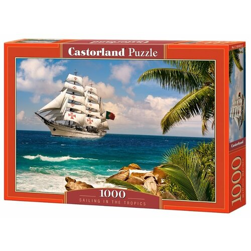 Пазл Castorland Sailing in the sailing the mystery