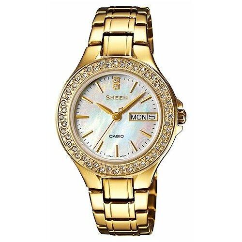 Наручные часы CASIO SHE-4800G-7A наручные часы casio she 3050sg 7a