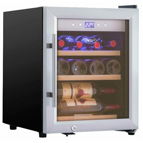 Винный шкаф Cold Vine C12-KSF1 cold vine винный шкаф 33 л на 12 бутылок термоэлектрический серый c12 tsf2 cold vine