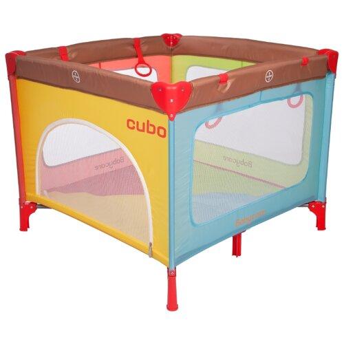 Манеж Baby Care Cubo манеж кровать baby care ob 888 серый бежевый