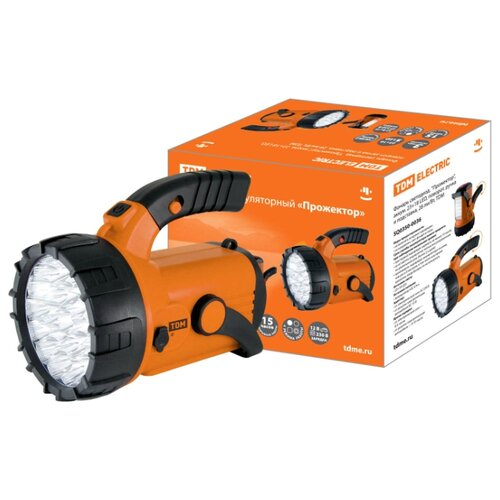 Ручной фонарь TDM ЕLECTRIC фонарь tdm sq0350 0026