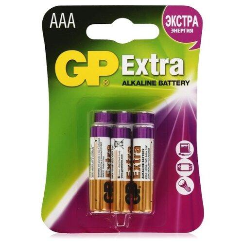 Фото - Батарейка GP Extra Alkaline AАA радиатор отопления global биметаллические style extra 500 10 секций