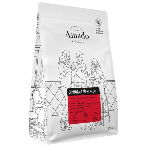Кофе в зернах Amado Эфиопия фото