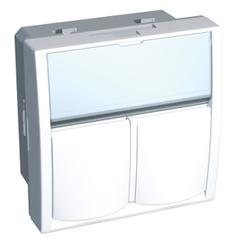 Телекоммуникационная розетка Schneider Electric Altira ALB44383, белый