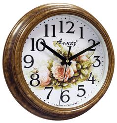 Часы настенные кварцевые Алмаз C46
