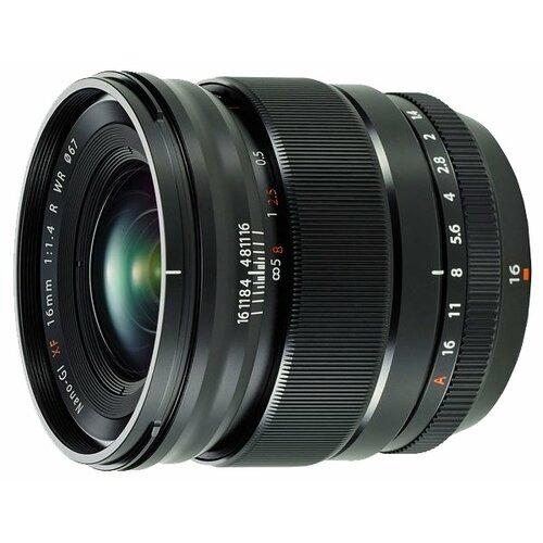 Фото - Объектив Fujifilm XF 16mm f 1.4 объектив fujifilm fujinon xf 18 mm f 2 r