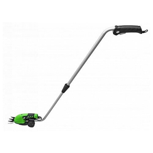 Ножницы-кусторез аккумуляторный кусторез аккумуляторный greenworks g24ht basic 2201207