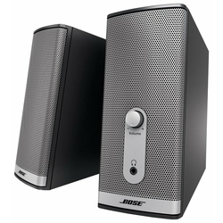 Bose Companion 2 Series II Multimedia Speaker System-Right//Left Speakers Gray