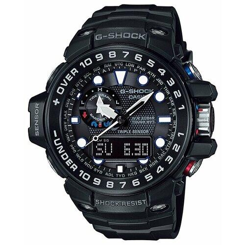 Наручные часы CASIO GWN-1000B-1A casio g shock gulfmaster gwn 1000b 1a