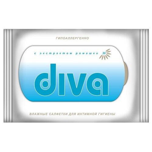 Diva Влажные салфетки для колье diva diva mp002xw1io6p