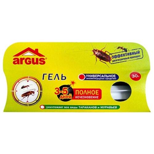 Гель ARGUS от тараканов и свеча от комаров argus