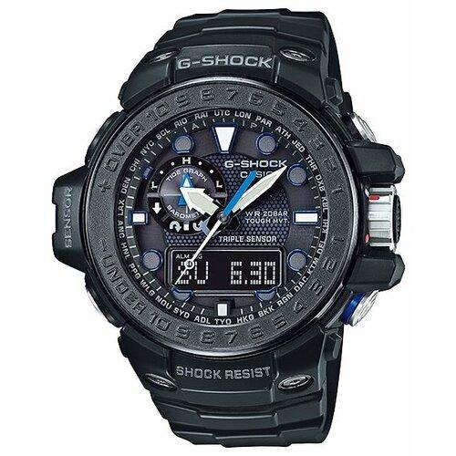Наручные часы CASIO GWN-1000C-1A casio g shock gulfmaster gwn 1000b 1a