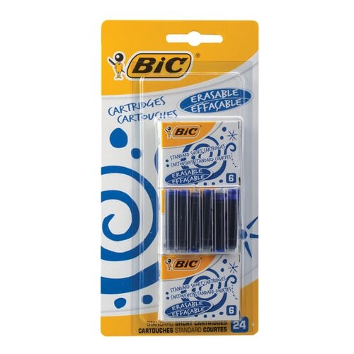 Фото - Картридж для перьевой ручки BIC lamy картридж для перьевой ручки синий 5 шт