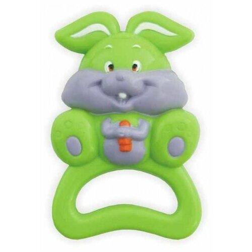 Погремушка Baby Mix Кролик 187 погремушки baby mix с прорезывателем лягушонок